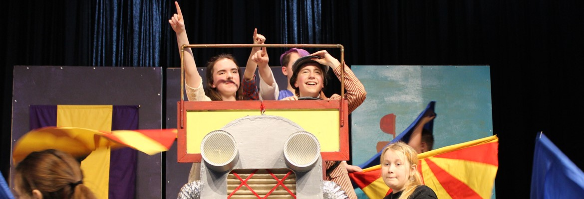 Middle School Production of Chitty Chitty Bang Bang